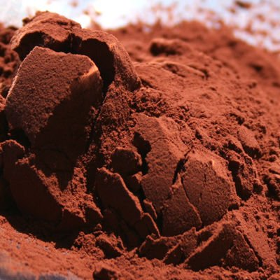 Natural unsweetened cacao powder.