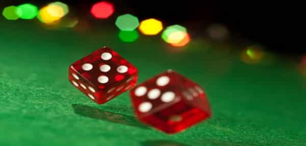 Classic 6 sided dices - some gamblers claim, that they're able to influence the outcomes of craps through dice control
