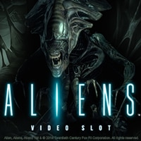 The logo of the Aliens slot. If you click the picture, you'll be taken to a page where you can play the Aliens slot.