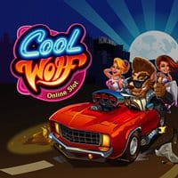 The logo of the online slot Cool Wolf. If you click on the picture, you will be taken to a page, where you can play the Cool Wolf slot