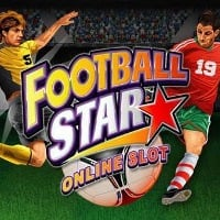 A picture of Football Star online slot's logo. If you click on the picture, you'll be taken to a page, where you can play the Football Star Online Slot
