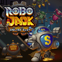 A picture of Robo Jack online slot.