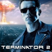 A picture of Terminator 2 Microgaming movie-based slot. If you click on the picture, you will be taken to a page, where you can play the Terminator 2 slot