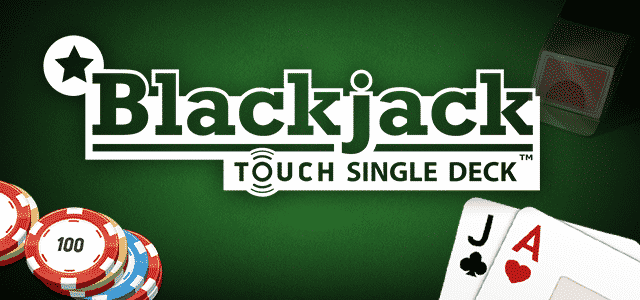 This is the header image of the Net Entertainment Single Deck Blackjack