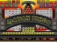 Logo of the Mayan Bingo game.