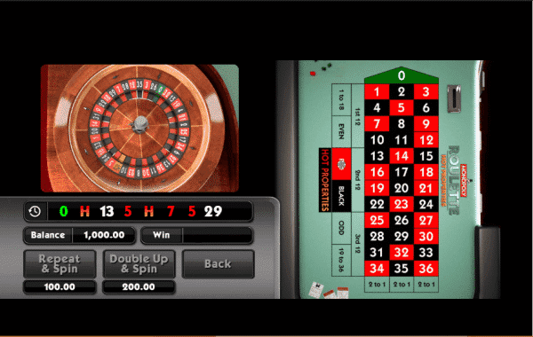 The picture shows you the features of the Monopoly Roulette