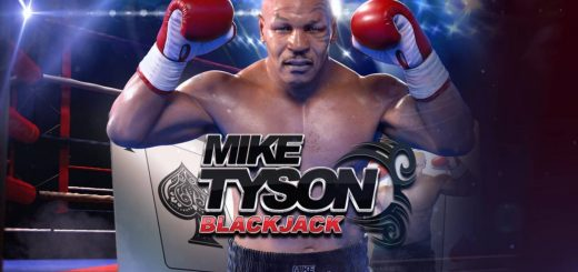 This is the official logo of Mike Tyson Blackjack by Inspired Gaming featuring the world-famous athlete boxer of the same name. You can play with this blackjack game on this webpage for free, no registration required.