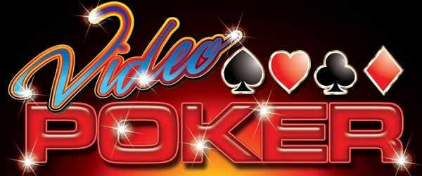 Header for free video Poker games.