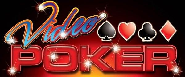 Header for free video Poker games.