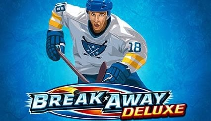 This the logo of the slot game Break Away Deluxe, released in 2019.