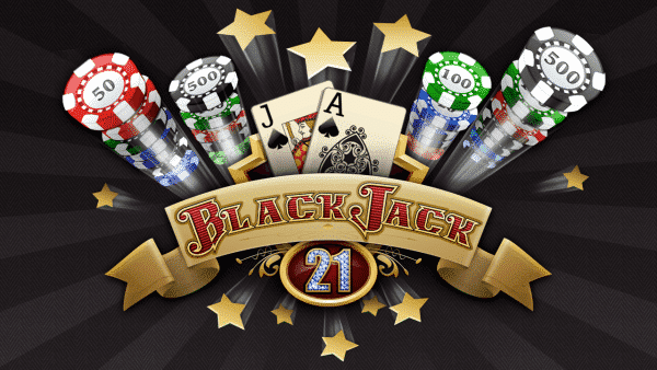 On the picture you can see casino chips flying towards the player. Two Blackjack cards (a jack of spades and an Ace of spades) can be seen on the picture. The picture acts as the header of free-to-play Blackjack section of Simon's Online Gambling Blog.