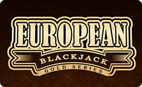 The logo of the European Blackjack