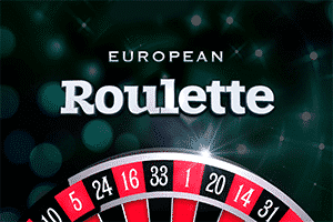 """On the picture is part of Roulette wheel. The words """"European Roulette"""" can be seen on the picture as well. The picture acts as a link. By clicking on the picture you will be take to a webpage, where you can play European Roulette online."""