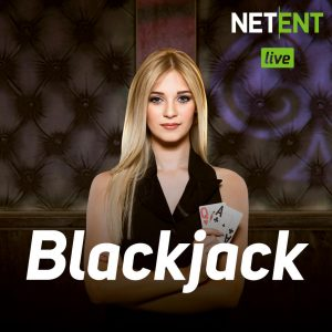 This a picture of a blackjack dealer from the 2019 Netent Live Casino's Live Blackjack section. By clicking on this picture it opens a new tab, where you can try out the demo version of this game online.