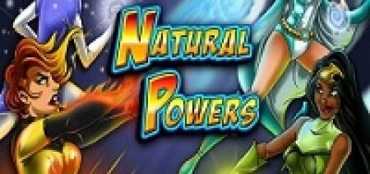 Logo of the Natural Powers free online slot.