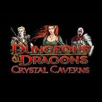 Logo of the Dungeons & Dragons: Crystal Caverns free online slot. If you click on the picture, you'll be taken to a page where you can play the Dungeons & Dragons: Crystal Caverns slot