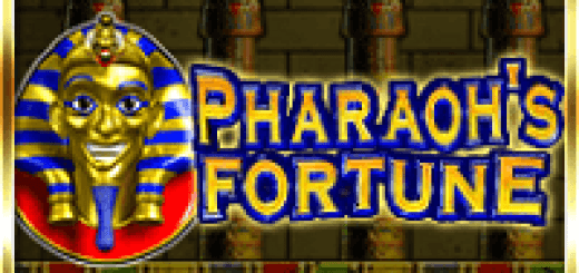 Logo of the Pharaoh's Fortune free online slot