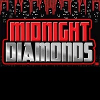 Logo of the Midnight Diamonds free online slot. If you click on the picture, you'll be taken to a page where you can play the Midnight Diamonds slot.