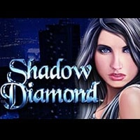 Logo of the Shadow Diamond free online slot. If you click the picture, you'll be taken to a page where you can play the Shadow Diamond slot.