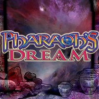 Logo of the Pharaoh's Dream free online solt. If you click the picture, you'll be taken to a page where you can play the Pharaoh's Dream slot.