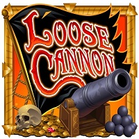 Logo of the Loose Cannon free online slot.If you click on the picture, you'll be taken to a page where you can play the Loose Cannon slot