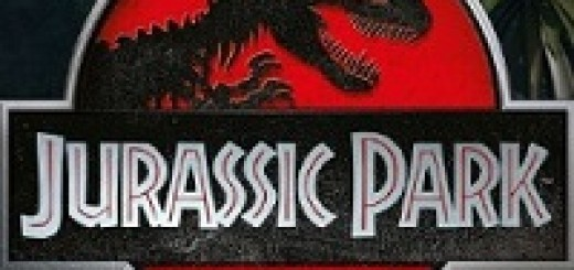 Logo of the Jurassic Park free slot.
