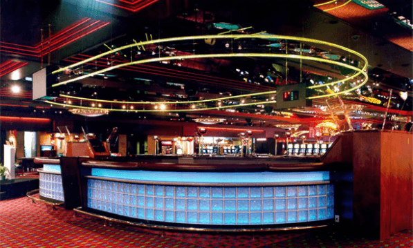 A picture of the interior (bar area) of the Burswood Casino located in Australia. The picture was taken when the casino was closed.