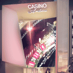 This is a picture of the planned design of Casino Andorra at Prat de la Creu, in Andorra la Vella, the capital of Andorra. To the right of the picture, you can read more about this casino.