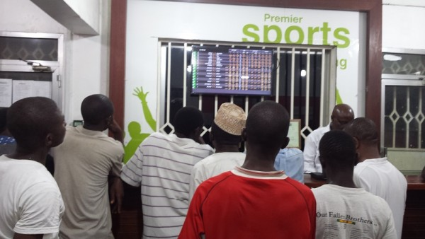 Live bettors in Tanzania - betting is a popular form of gambling in Tanzania