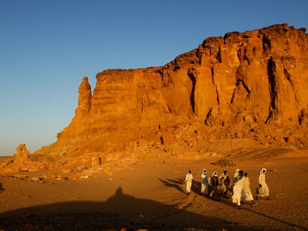 This is a picture of the desert landscape in Sudan. Sudan is one of the many Islamic countries which prohibits gambling because of Shari'a law. You can read all about the legal status of gambling in Sudan under the picture.