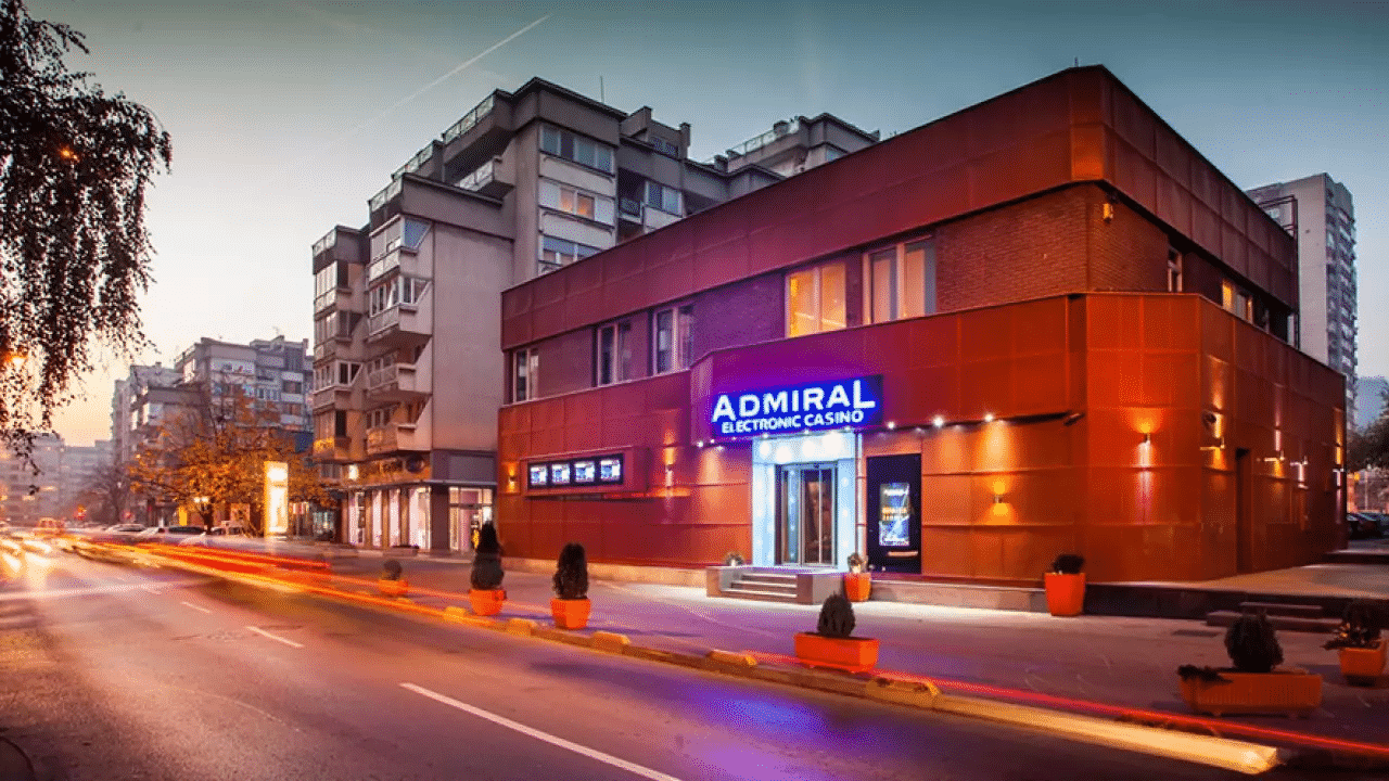 This a picture of the building of an Admiral electronic casino (slot hall) in Bosnia and Herzegovina. On this page you can read about the land-based and online gambling laws, regulations and licensing in Bosnia and Herzegovina.