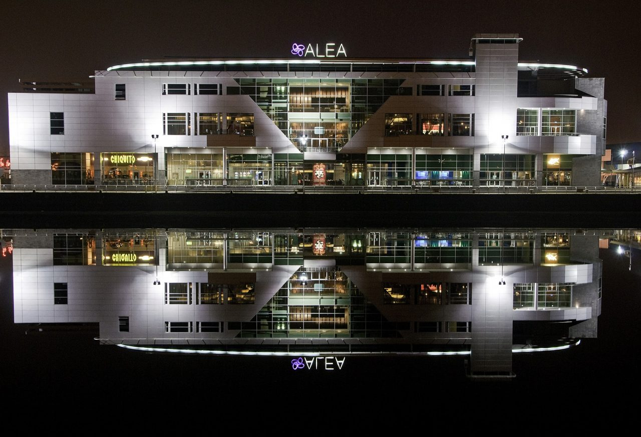 This is a picture of Alea Casino in Glasgow, a big city in Scotland, United Kingdom. Under the picture, you can read about gambling, poker, bingo, sports betting, lottery, bitcoin and online gambling laws, rules, regulations in the UK.