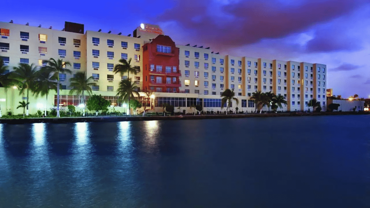 This is a picture of the main building of Princess Hotel & Casino Belize. On this page you can read about the poker, bingo, sports betting, casino gambling, lottery, cryptocurrency wagering laws, rules, taxation, licensing, age requirements of games of chance in Belize.