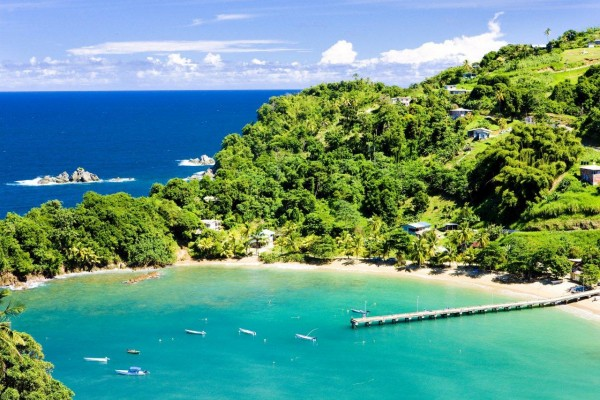 This is a picture of the beach of Trinidad and Tobago. The most unregulated gambling market in the Caribbean.