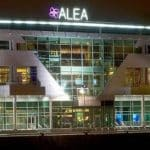 This is a picture of the entrance gate of Alea Casino in Glasgow, Scotland, Great Britain, UK. You can read more about this casino to the right.