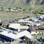 This is an aerial picture of Crowne Plaza Alice Springs Lasseters, an IHG Hotel, in Alice Springs, Northern Territory, Australia. This is the biggest casino of the Northern Territory. This is the first casino on this list of all the NT casinos, you can find the other gaming venues on this list, under this one. To the right of the picture you can read more about this casino.