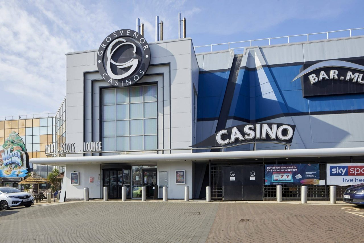 This is a picture of the facade of Grosvenor Casino in Blackpool. You can find a list of land-based casinos and online casinos licensed in the UK and accept players from the United Kingdom, England, Wales, Scotland, Northern Ireland.