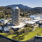 This is a picture of Hobart Casino in Wrest Point Hotel, Sandy Bay, Tasmania. This is the biggest casino in Tasmania. This is the first casino on this list of all the TLD casinos, you can find the other gaming venues on this list under this one. To the right of the picture you can read more about this casino.