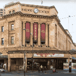 This is a picture of the Adelaide railway station, where the SkyCity Adelaide Casino is located, the only casino in South Australia. To the right of the picture you can read more about this casino.