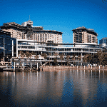 This is a picture of the building complex of The Star Grand Hotel and Residences in Pyrmont, Sydney, New South Wales, in the Commonwealth of Australia. This is the biggest casino in the state of New South Wales right now. This is the first casino on this list of all the NSW casinos, you can find the other gaming venue on this list under this one. To the right of the picture you can read more about this casino.