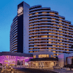 This is a picture of the main building of The Star Gold Coast in Broadbeach, Queensland, in the Commonwealth of Australia. This is the biggest casino in the state of Queensland right now. This is the first casino on this list of all the QLD casinos, you can find the other gaming venues on this list under this one. To the right of the picture you can read more about this casino.