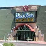 This is a picture of the main building of Wind River Hotel and Casino. This is the biggest Indian casino in Wyoming . Next to the picture you can read about the gambling establishments, the legal status of online casinos, crypto casinos and tribal casinos in WY, taxation of winnings and legal gambling age in the state.
