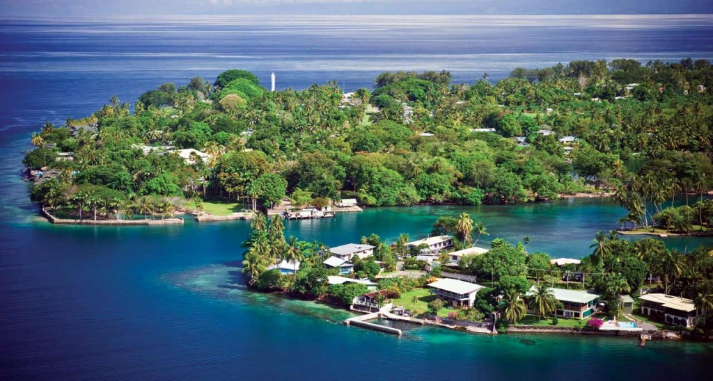 A picture of a Papua New Guinean scenery - an illustration to my guide abut gambling and casinos in PNG.