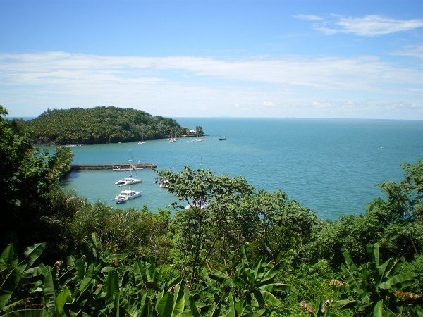 View from the Ile Royal in French Guiana
