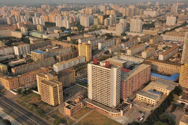 The picture shows Pyongyang, the capital of North Korea. This is the header image of my guide detailing the legal status of gambling and online gambling in North Korea. Any form of gambling in North Korea is illegal for citizens but tourists can play legal in the only one North Korean casino.
