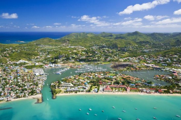 This is a picture of St. Lucia. It is used as the header image of an article about casinos, gambling and online gambling (+Bitcoin) in St. Lucia.