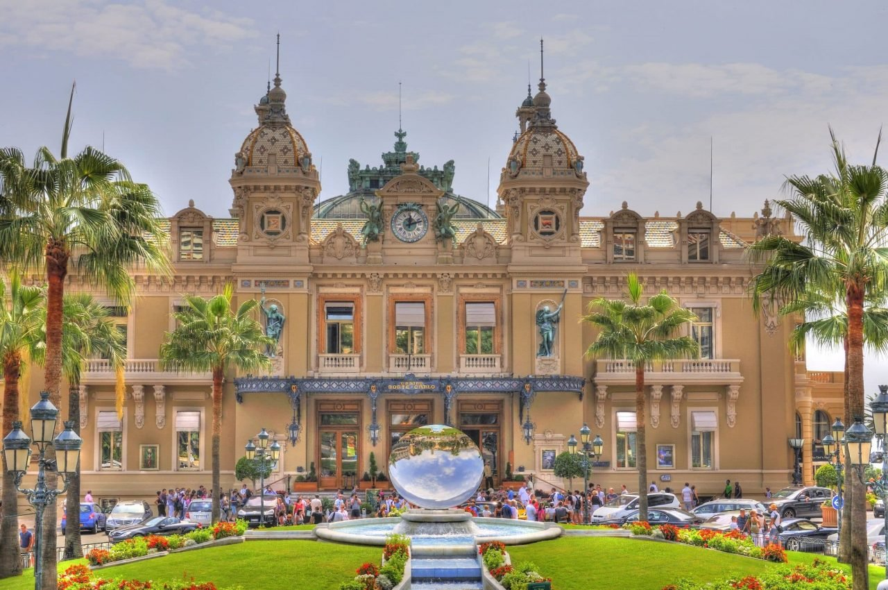 This is a picture of the building of Le Grand Casino de Monte Carlo in Monaco. This is the micronation's most iconic and well-known gambling establishment. Under the picture you can read about the gambling, online gambling, sports betting, bingo, poker, lottery and bitcoin gambling laws, regulations, taxation and licenses in the country.