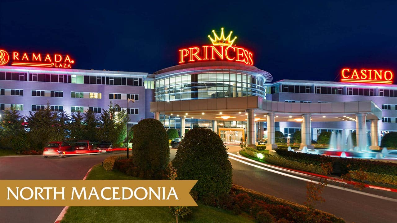 This is a phot of Princess Casino in Gevgelija, North Macedonia. You can read about gambling, sports betting, poker, bingo, keno, lottery, online gambling and bitcoin gambling laws in the country.