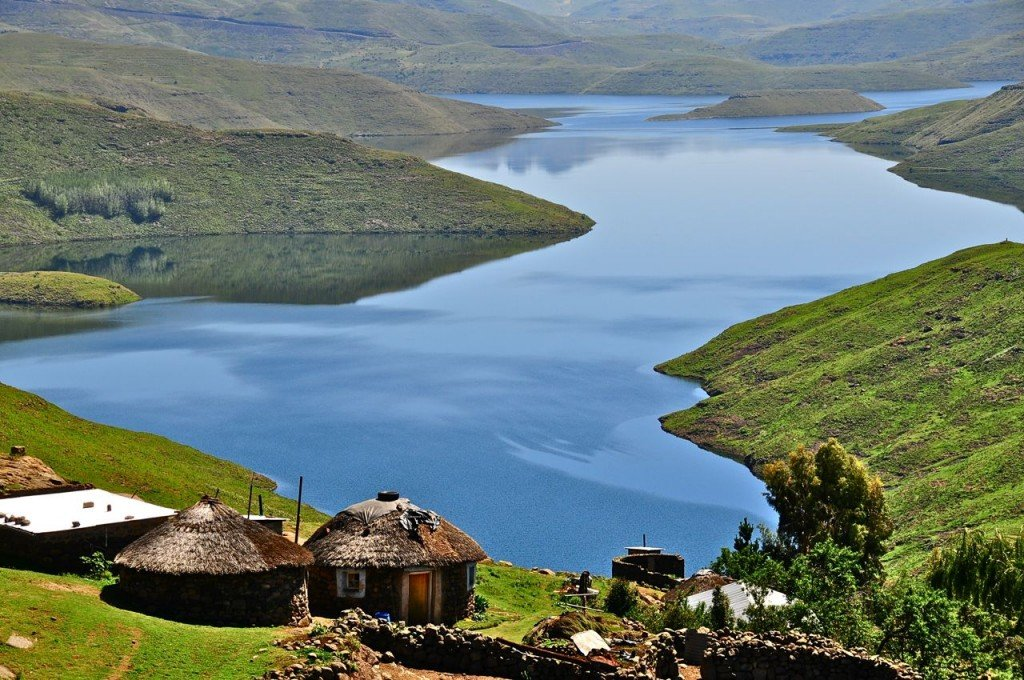Picture of Lesotho's gorgeous landscape. Gambling is legal in the country, but online gambling is not yet regulated.