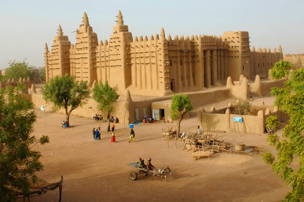 Picture of a luxury hotel in Mali.